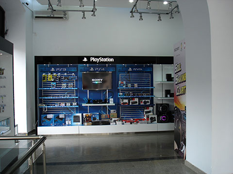 1st floor of the store