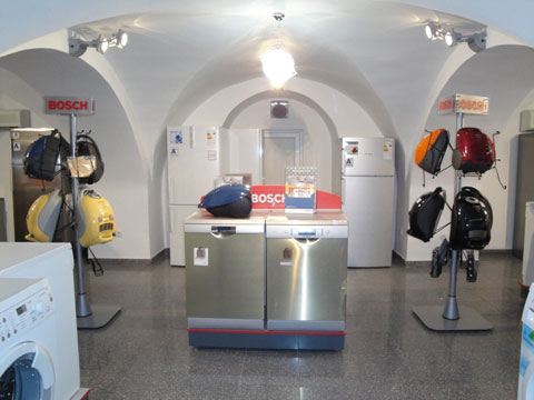 The ground floor of the store