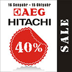 AEG and Hitachi sale