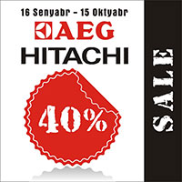 AEG və Hitachi ləğvetməsi