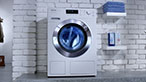 """New Miele W1 and T1 series washing and drying machines"" commercial"
