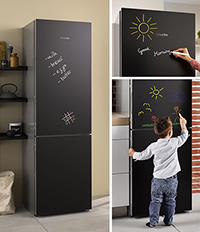 We received new black refrigerator Miele KFN29283D