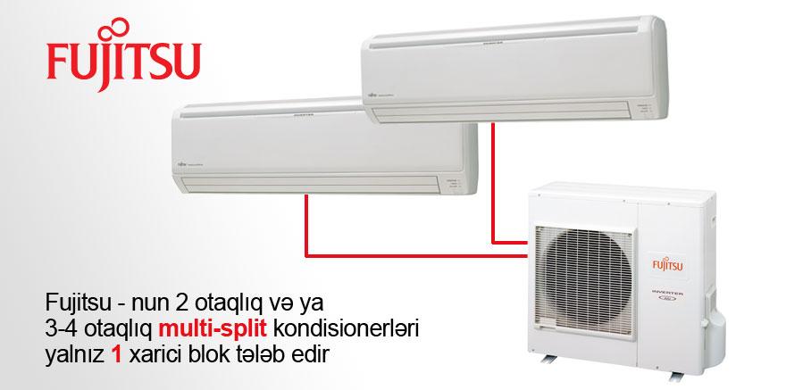 Fujitsu multi-split kondisionerləri