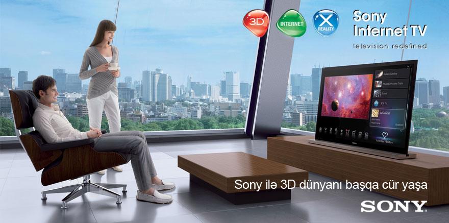 SONY ilə 3D dünyanı başqa cür yaşa